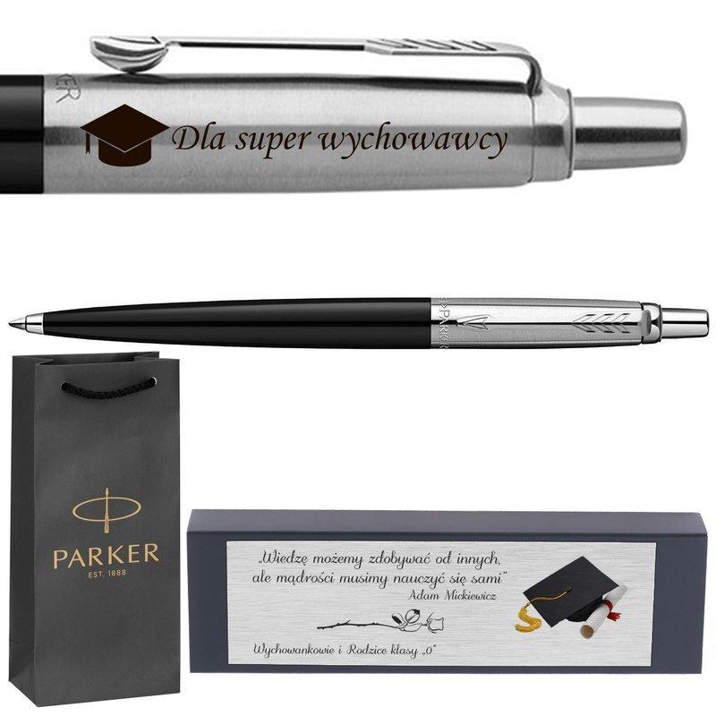 Długopis Jotter Special Czarny Torebka Prezent z Twoim Grawerem i Dedykacją