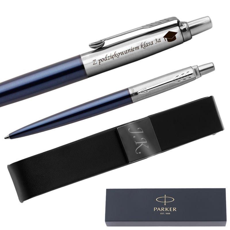 Długopis Parker Jotter CT Royal niebieski + Etui Grawer