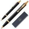 Długopis Parker IM Czarny GT