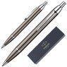 Długopis Parker IM Gun Metal CT GRAWER 1