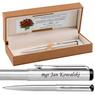 Długopis Parker Vector Stalowy Prezent Tabliczka Grawer 7