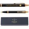 Oryginalny Długopis Parker IM Czarny GT z Gawerunkiem 2