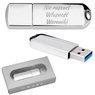 Pendrive chrom 32 GB Pamięć USB 3.0 prezent z Grawerem 1