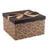 Pudełko na prezent Czarne 30,5 18 cm XXL+ 1