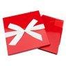 Pudełko na prezent Czerwone 30,5 x 18 cm rozmiar XXL+ 3