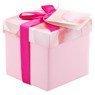 Pudełko na prezent różowe XS 1
