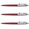 Zestaw Długopis Ołówek Jotter Parker Czerwony CT Prezent Grawer 7