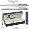 Zestaw Długopis i Ołówek Parker Jotter stalowe CT Etui z Grawerem 3