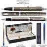 Zestaw Parker IM Długopis Pióro Dark Espresso CT Grawer 7