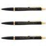 Zestaw Parker Urban Pióro i Długopis Muted Black GT z Grawerem 7