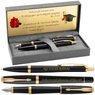 Zestaw Parker Urban Pióro i Długopis Muted Black GT z Grawerem 1