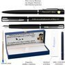 Zestaw Pióro Długopis Waterman Allure Czarne CT z Grawerem 3