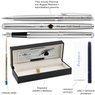 Zestaw Pióro + Długopis Waterman Hemisphere stalowy CT z Grawerem  7