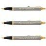 Zestaw Pióro i Długopis Parker IM Brushed GT z Grawerem 7