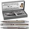 Zestaw Pióro i Długopis Parker IM Gun Metal CT z Grawerem 1