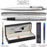 Zestaw Pióro i Długopis Parker Jotter stalowe CT Etui z Grawerem 3