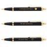 Zestaw Pióro wieczne Długopis Parker IM Czarny GT z Grawerem 7