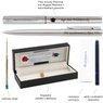 Zestaw Pióro wieczne Długopis Waterman Graduate stalowy CT z Grawerem 5