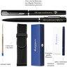 Zestaw Waterman Pióro + Długopis Allure Czarne CT + Etui Grawer 2